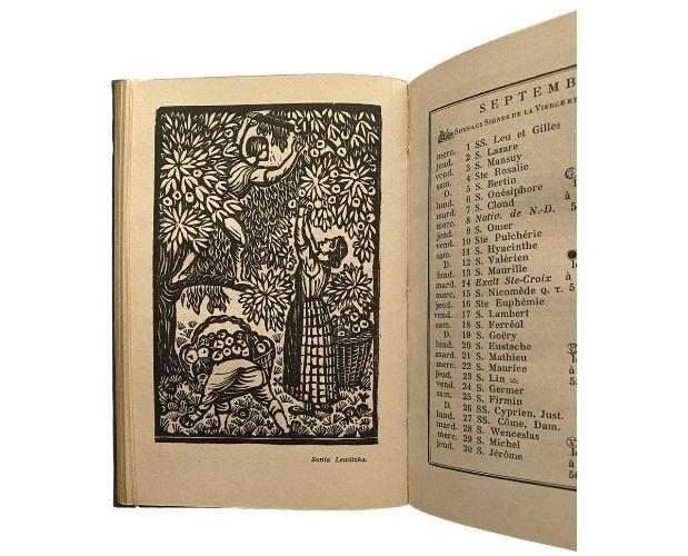 Illustration Almanach de Cocagne