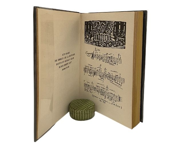 Music by Erik Satie in Almanach de Cocagne