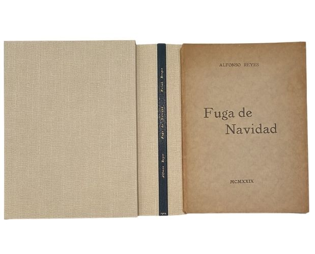 book chemise slipcase Norah Borges Fuga de Navidad