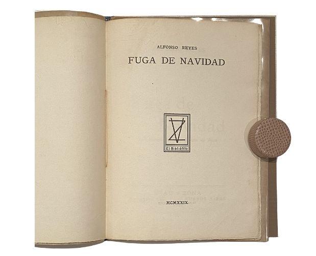 title-page Noral Borges Fuga de Navidad