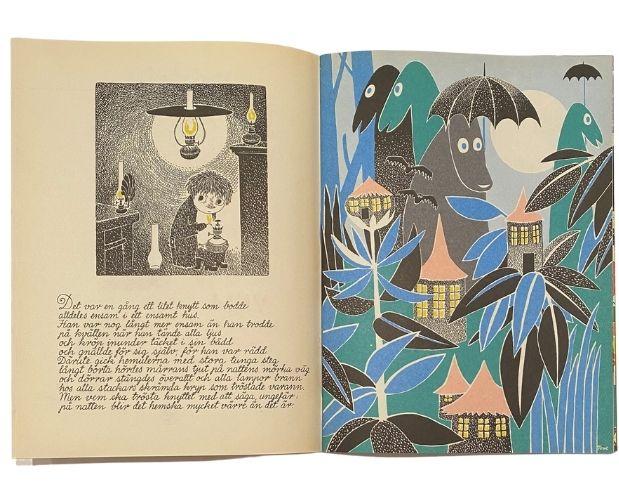 Illustration de Tove Jansson