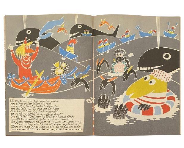 Illustration by Tove Jansson