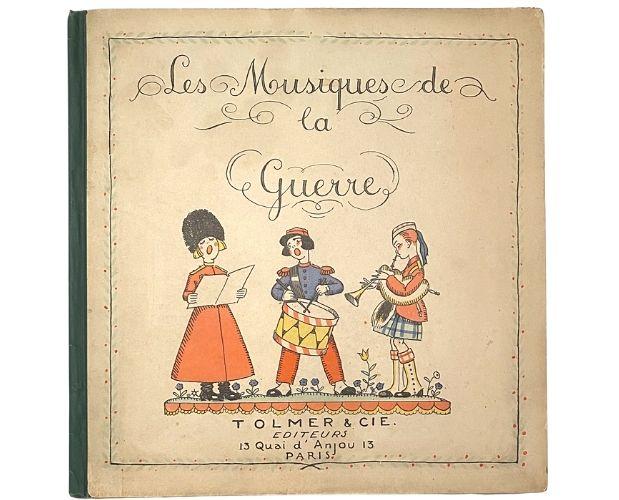 cover of Tolmer Thevenaz Musiques de la guerre