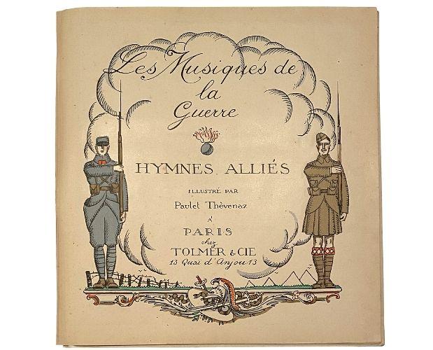 title-page of Tolmer Thevenaz Musiques de la guerre