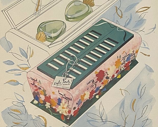 colour plate of Bienaimé Parfums