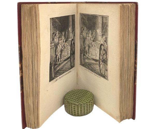 Engraved plates of Restif de la Bretonne Tableaux de la vie