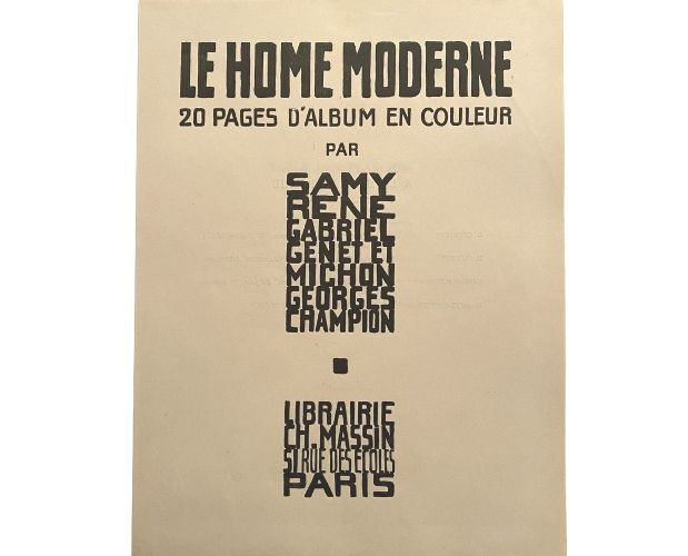 Title-page of Samy Home moderne