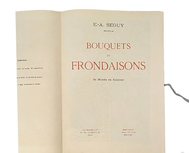 title-page of Seguy Bouquets