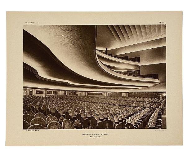 Planche Cinema in l'Architecte