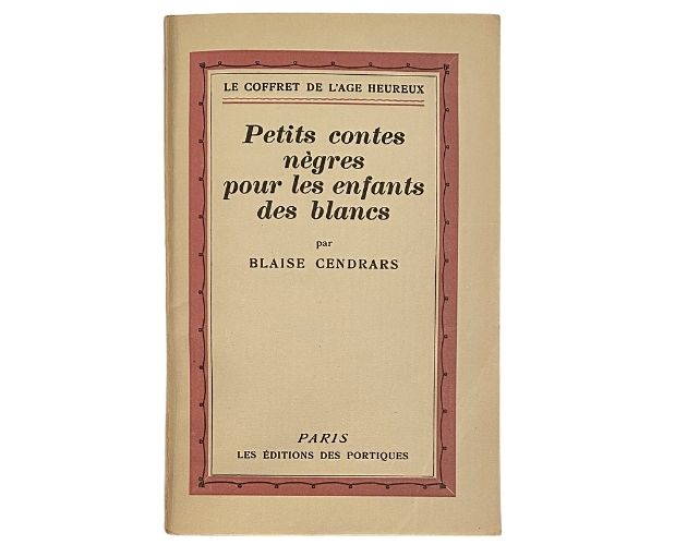 cover of cendrars petits contes