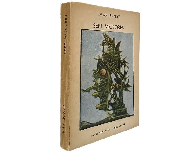 Spine of Max Ernst Sept Microbes