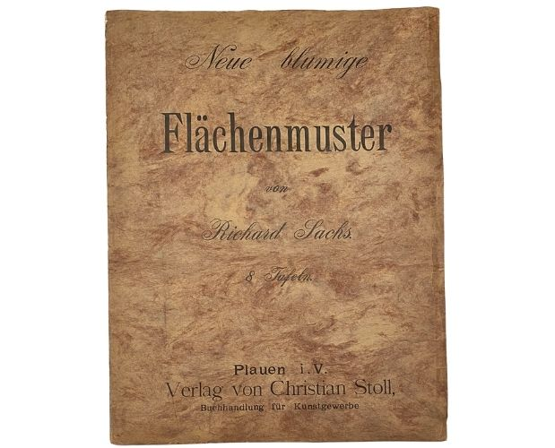 Cover of Sachs Neue blumige Flächenmuster