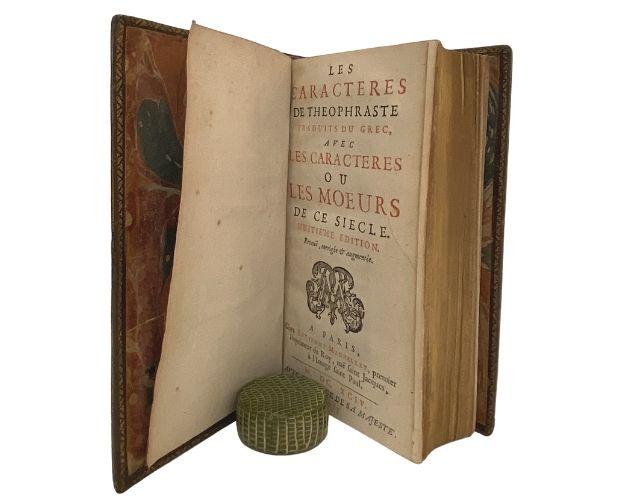 Title-page of La Bruyère Caractères