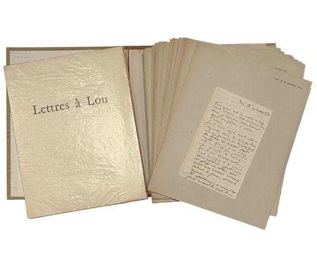 Apollinaire Lettres à Lou