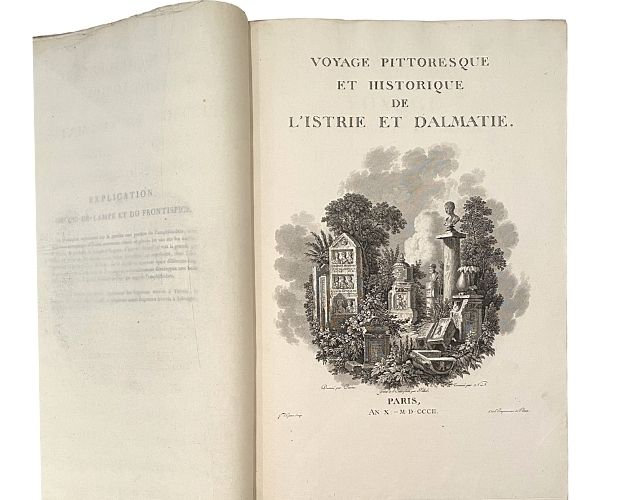 Title-page of La Vallee Istrie