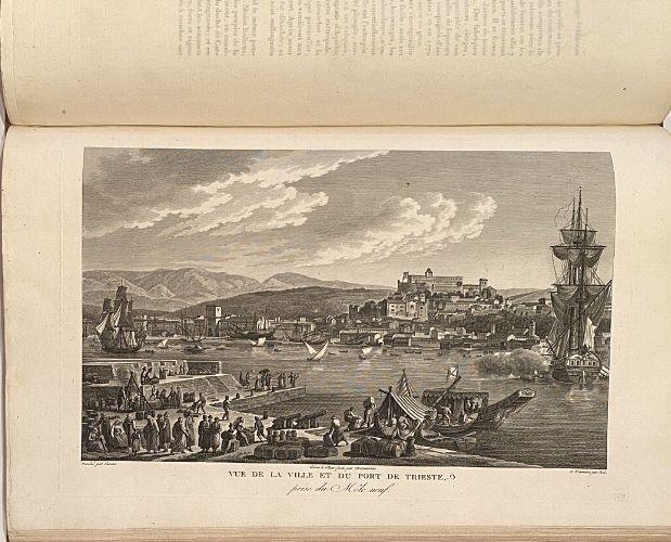 Plate of La Vallee Voyage Istrie
