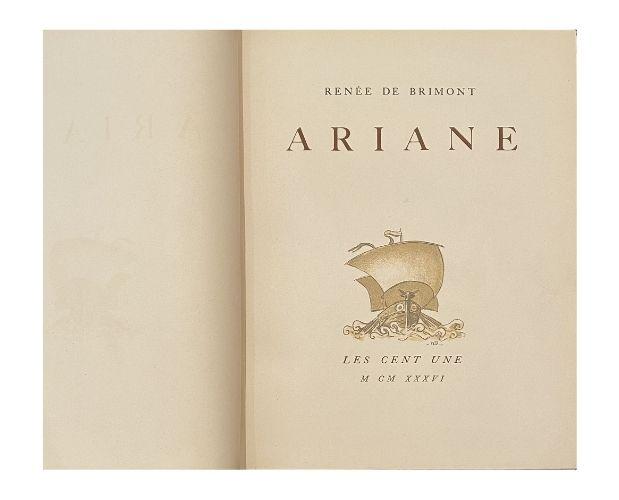 page de titre brimont ariane