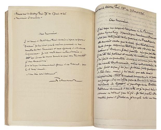 autograph letters brimont ariane