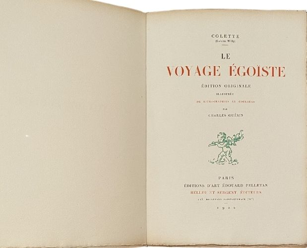 title-page colette voyage