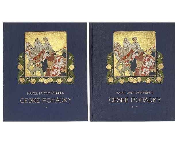 covers of erben fairy tales