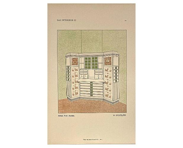 colour plate of Das Interieur III