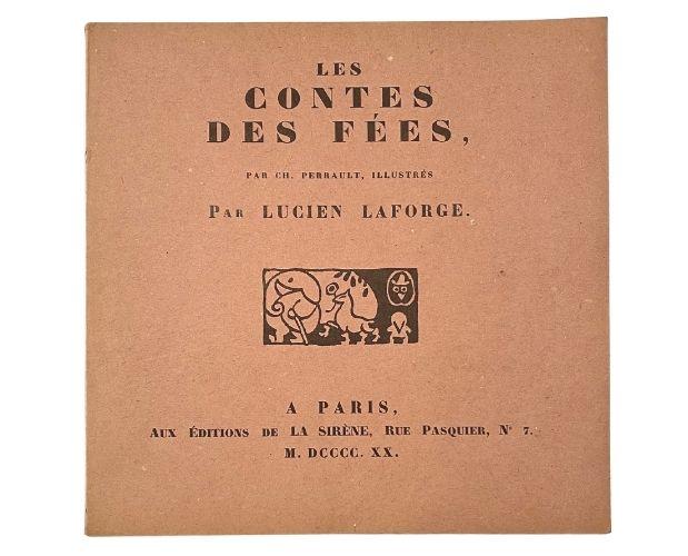 cover of Lucien Laforge Contes de fées
