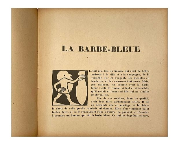text with illustration by Lucien Laforge
