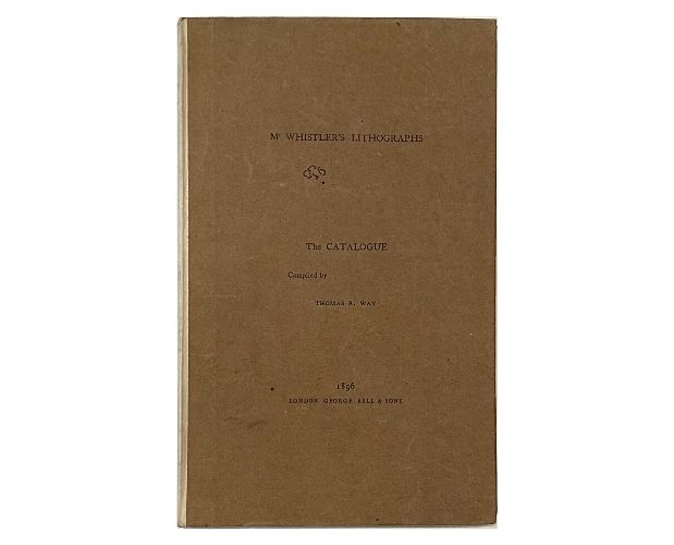 Cover of Way Mr Whistler's Lithographs