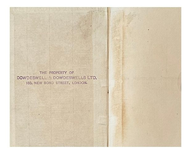 ownership stamp in Way Mr Whistler's Lithographs