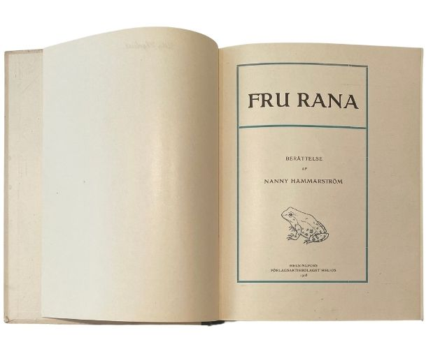 title-page of Fru Rana